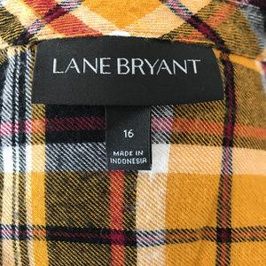 Lane Bryant Tops - Lane Bryant Flannel